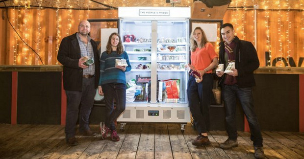 Community Fridge launches in Brixton - but why is it in Pop Brixton?