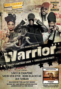 Warrior Sinista's Birthday show @ Hootananny Brixton | England | United Kingdom