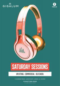 Saturday Sessions at Gigalum @ Gigalum | England | United Kingdom