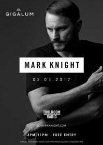 Sunday Sessions present Mark Knight @ Gigalum | England | United Kingdom
