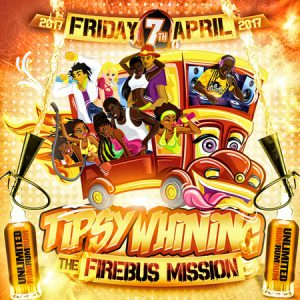 Tipsy Whining: The Firebus Mission @ The Firebus | England | United Kingdom