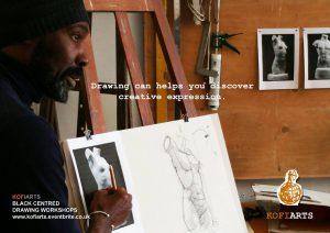 Kofi Arts Drawing Classses @ The Front Room | England | United Kingdom