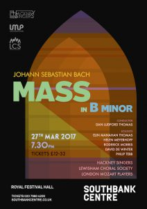 Bach B minor Mass @ Royal Festival Hall | England | United Kingdom
