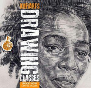 Kofi Arts Drawing Classes @ The Front Room | England | United Kingdom