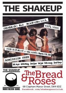The Shakeup - Northern Soul DJs @ The Bread and Roses Pub | England | United Kingdom