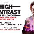High Contrast will play his debut headline live show 'High Contrast Live' at Electric Brixton on Saturday 18th March… and we have one pair of tickets to give away to his Electric live show!