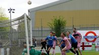 Dulwich Hamlet secured a home play-off match by beating Wingate and Finchley 3-0 in North London on Saturday.